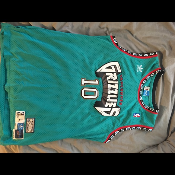 03e5259066a1 adidas Other - Mike Bibby Throwback Vancouver Grizzlies Jersey